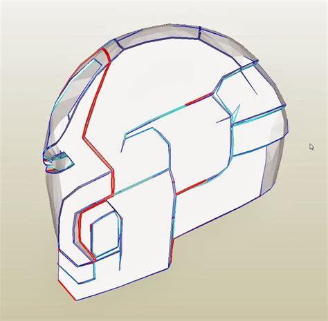 iron helmet cardboard template how to make iron costume helmet 9 a4 pdf new http