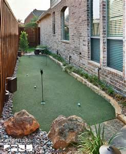 backyard putting green designs backyard artificial putting green design and construction