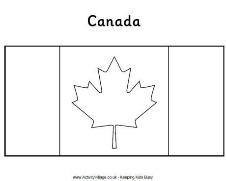 canadian flag colouring page coloring pages pinterest