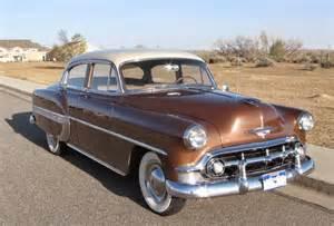 all american classic cars 1953 chevrolet bel air 4 door sedan