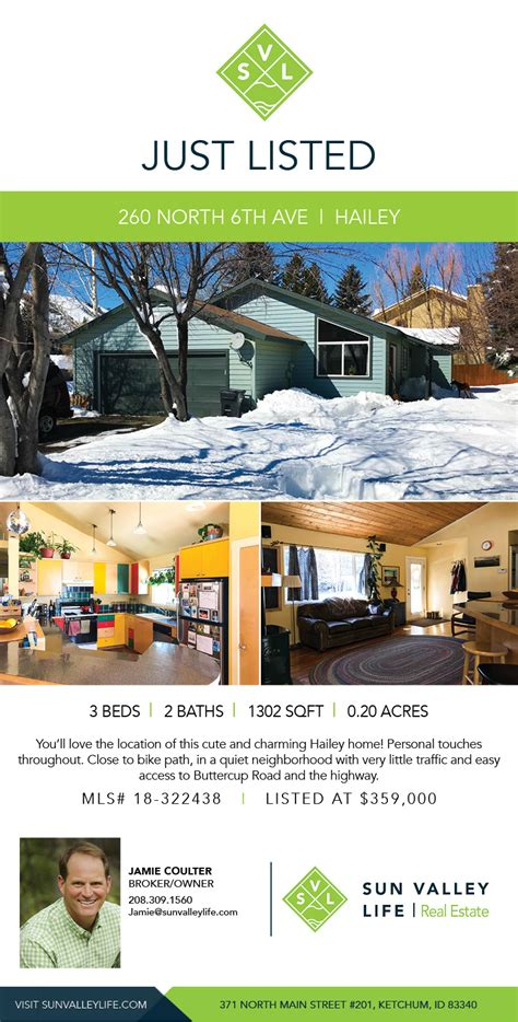 Hits The Market by Charming Hailey Home Hits The Market Sun Valley