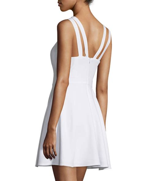 french connection whisper light dress french connection whisper light sleeveless dress white
