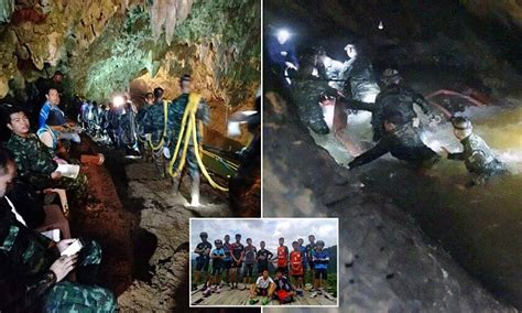 Brits Lost Weekend Before Rehab by Missing Thai Boys And Football Team Coach Are Found Alive
