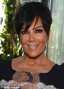 kardashian mother haircut kris jenner the unchanging face of kim kardashian s mom