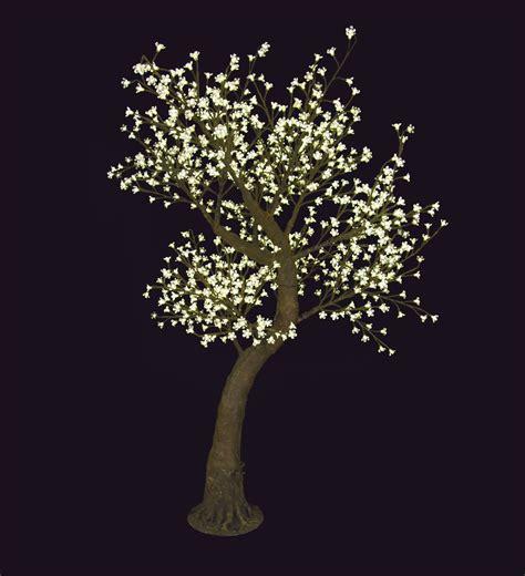 alberi illuminati noleggio arredi luminosi alberi da decoro mod melo fiorito
