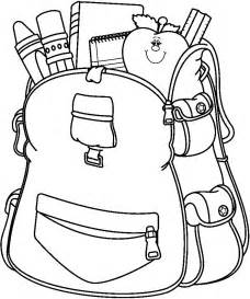 раскраски школьные принадлежности sketch template