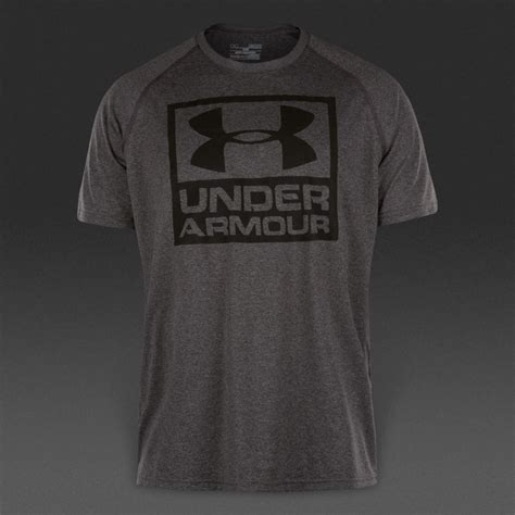 Clothing Armour Boxed Logo armour boxed logo ss mens clothing carbon