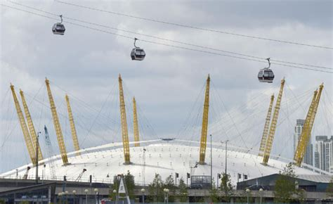thames river valley cable london cable cars to carry visitors over river thames 1