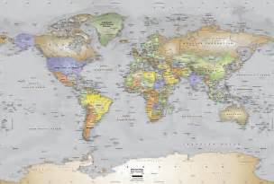 World Map Wall by Gallery For Gt World Atlas Wallpaper