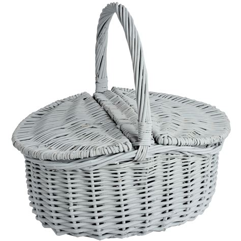 Wicker Basket With Lid Ebay Tall Wicker Baskets With Lids Wicker Laundry Hers With Lids