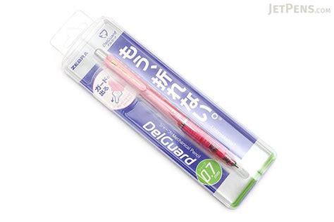 Zebra Delguard Mechanical Pencil 0 5 Mm Pink zebra delguard mechanical pencil 0 7 mm bright pink jetpens