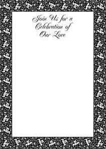 printable templates for invitations free printable invitations black and white