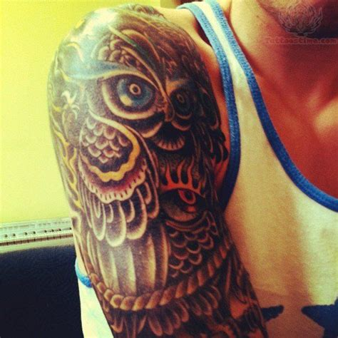 owl tattoo half sleeve 1846 best images about owl tattoos uil tattoos on