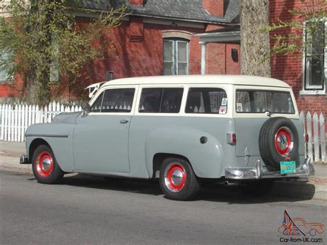 Chrysler Suburban by 1950 Plymouth Suburban Wagon Rod Sweet