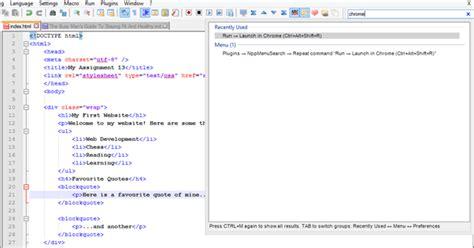 format html plugin notepad notepad html format plugin phpsourcecode net