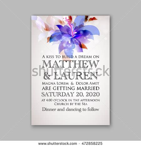 Wedding Invitation Templatesweet Wedding Bouquets Rose Stock Vector 472858351 Shutterstock Orchid Wedding Invitation Template