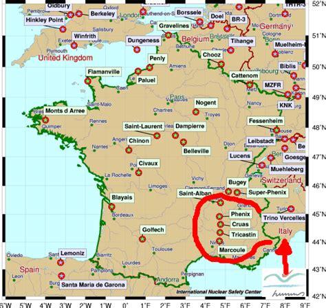 centrale francese le conseguenze di fukushima rovato 5 stelle