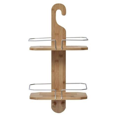 mensola doccia mensola doccia con gancio bamb 249 accessori bagno eminza