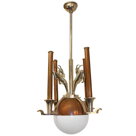 Italian 1930s Art Deco Chandelier At 1stdibs Deco Chandelier