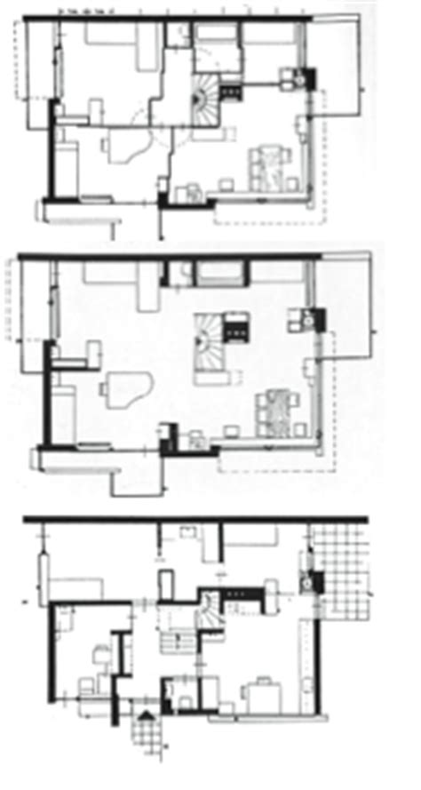 schroder house floor plan schroder house floor plans house plans