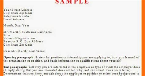 business letter application letter sle and tips