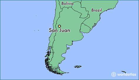 san juan map where is san juan argentina san juan san juan map