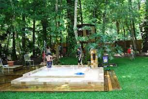 Things To Build In Backyard Beautiful Backyards For Families
