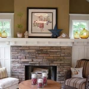 fireplace craftsman style interiors