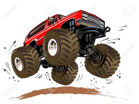 monster truck cartoon videos cartoon monster truck clip art 81