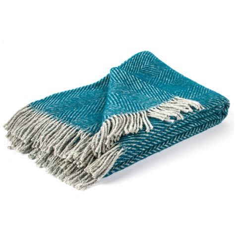 Wool Throws And Blankets by Turquoise 100 Wool Throw Sergio Throws And Blankets