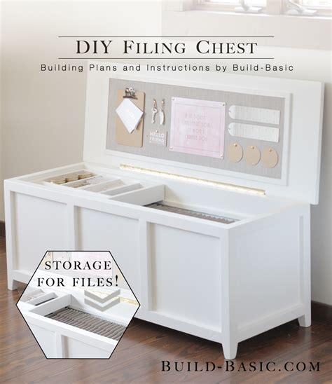 make a filing build a diy filing chest build basic