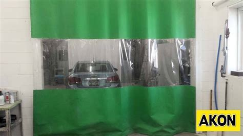paint booth curtain curtain for paint spray booth akon curtain and dividers