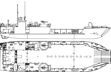 lst diagram landing craft mechanized