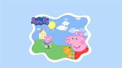 Peppa Pig Also Search For Peppa Pig Wallpaper Desktop Wallpapersafari