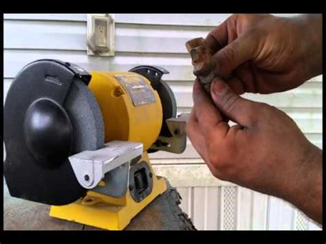 how to sharpen grinder blades diy stump grinder teeth sharpening by kurt doovi