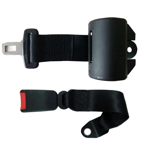 are 2 point seat belts new black 2 point retractable car auto seat belt universal