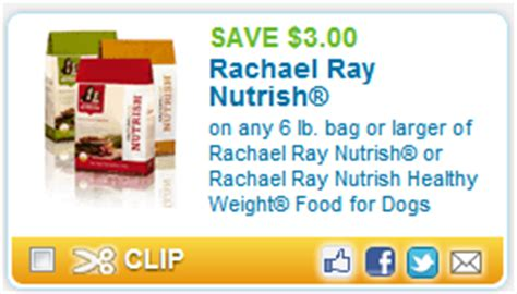 printable rachael ray dog food coupons high value 3 00 off rachael ray nutrish dog food
