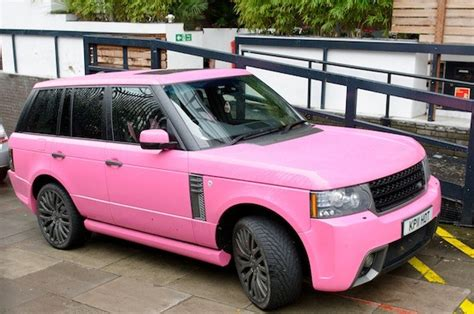 land rover pink katie price attempts to sell her pink range rover to