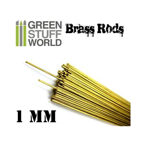 Brass Rod 0 2mm pinning brass rods 1mm profiles