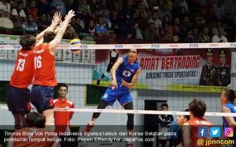 film thailand voli jepang juara voli putra asia indonesia peringkat keempat