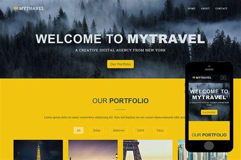 bootstrap theme free yellow zmytravel free bootstrap theme zerotheme