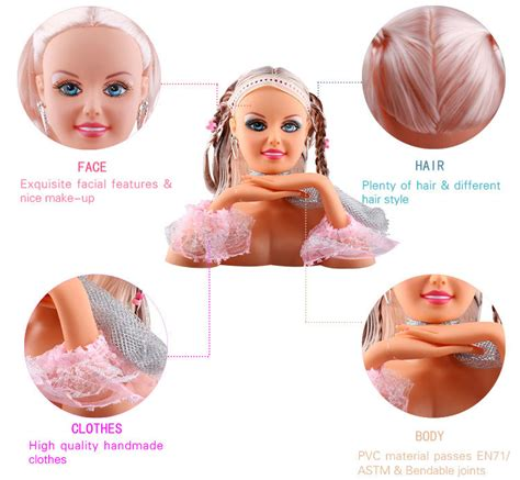 Makeup And Hairstyle Doll by Makeup U0026 Hairstyling In Figures And Character