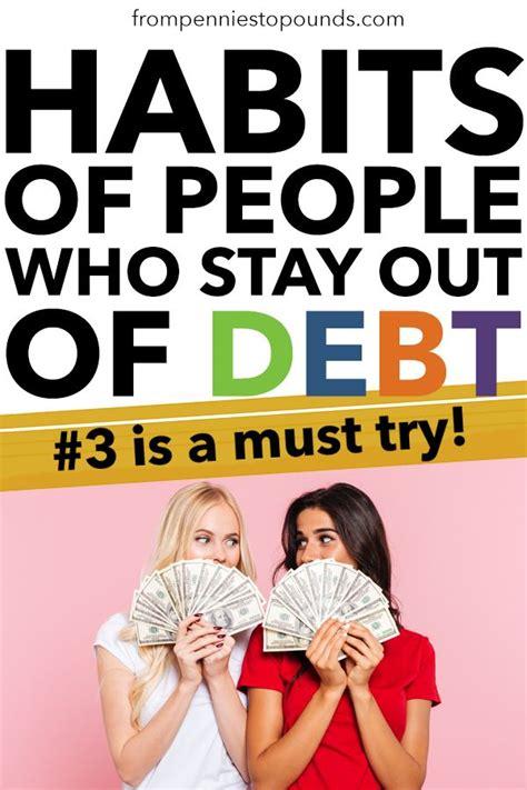 smart habits  people  stay   debt art