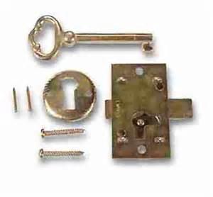 skeleton key locks for cabinets l 1b brass plated steel flush mount cabinet door lock