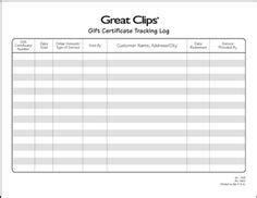gift card tracking log template hearts confetti gift certificate hearts printable
