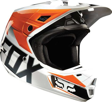 motocross racing helmets 2015 fox racing v2 race motocross dirtbike mx atv snell