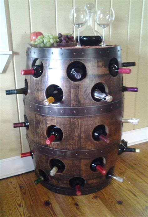 barrel home decor what to do with wine barrels 20 amazing ideas home