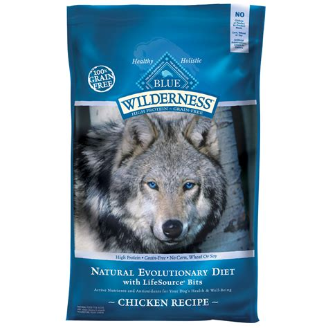 blue buffalo grain free food blue buffalo wilderness grain free chicken recipe 11 lb