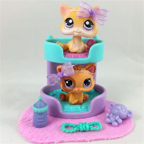littlest pet shop pair of kittens 114 2414 w