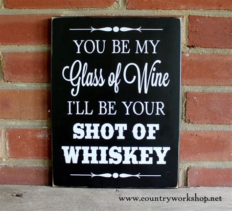 Beach Home Decor Wholesale by Whiskey Wine Sign Wedding Valentine Love Funny Wall Decor